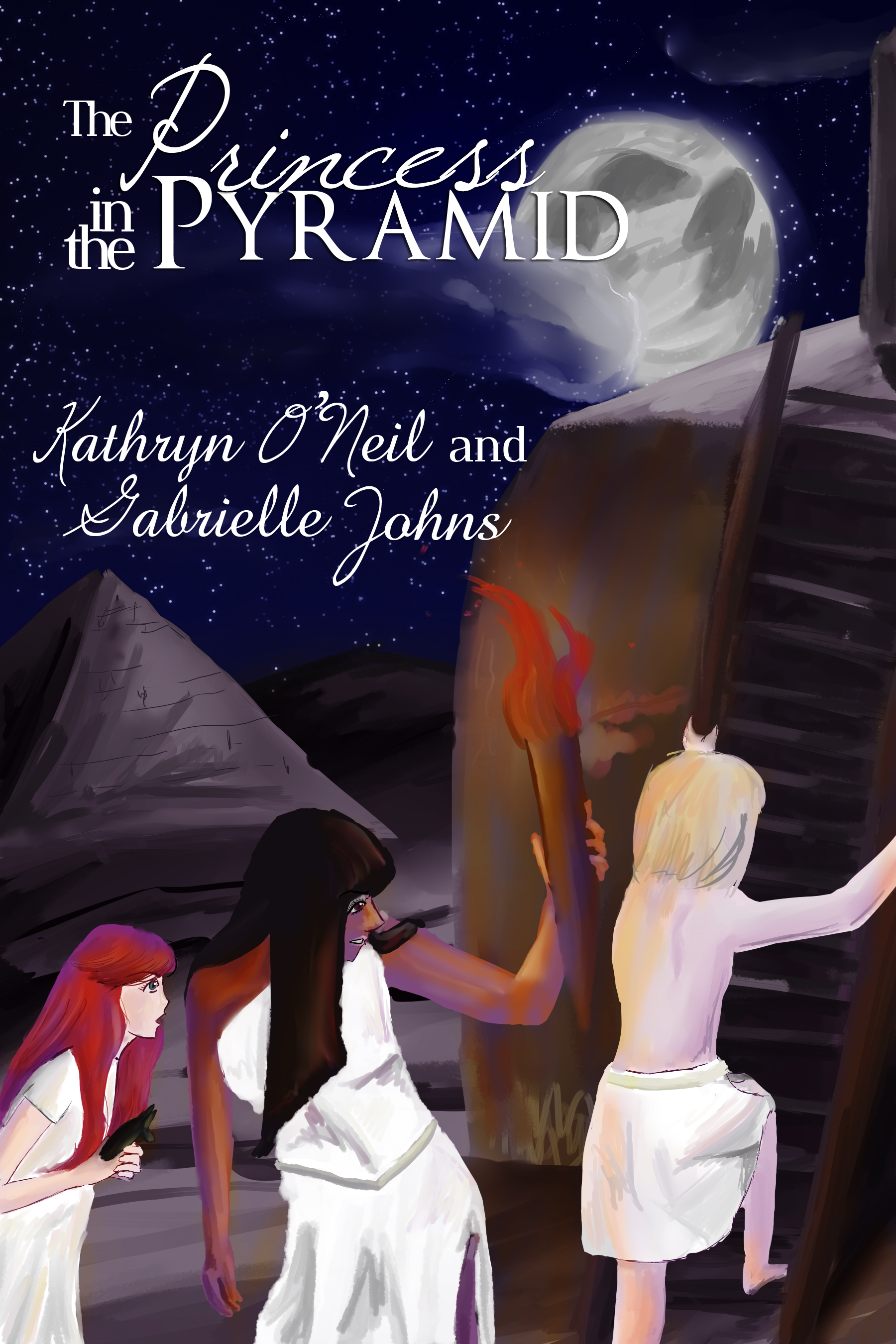 The Princess in the Pyramid by Kathryn O'Neil and Gabrielle Johns